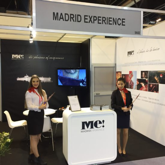 Stand Madrid Experience en Fitur   Spanish Travel Agency   Spanish Tour Operator